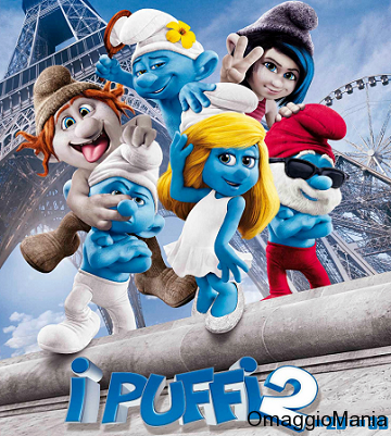 vinci gadget film I Puffi 2
