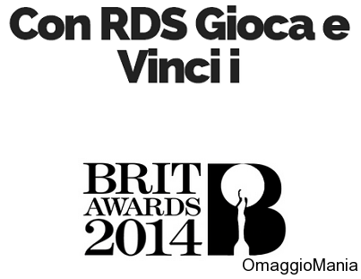 prova a vincere un viaggio per i Brit Awards 2014