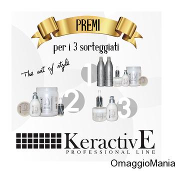 vinci kit prodotti per capelli KeractivE