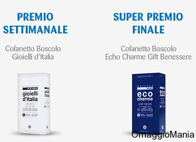 prova a vincere un cofanetto Boscolo con il concorso De Agostini