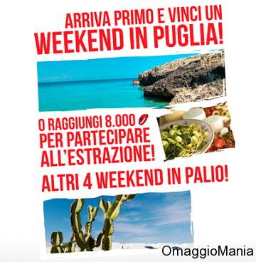 vinci weekend in Puglia con Braccialetti Rossi