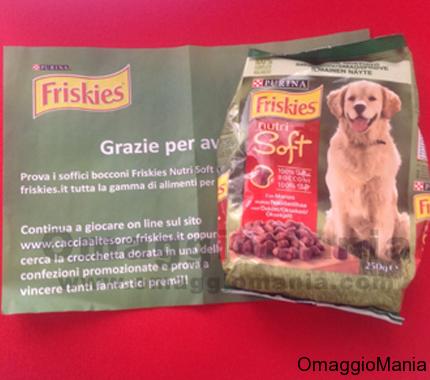 Campioni omaggio cibo per cani Friskies Nutri Soft in arrivo