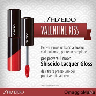 Gloss Shiseido Lacquer in omaggio da Shiseido