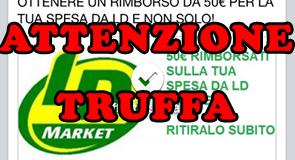 attenzione truffa coupon LD Market