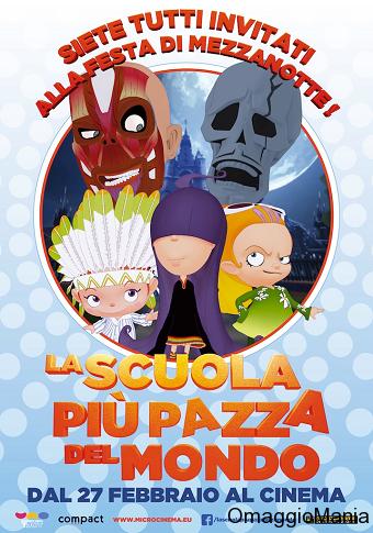 biglietti cinema gratis La scuola più pazza del mondo