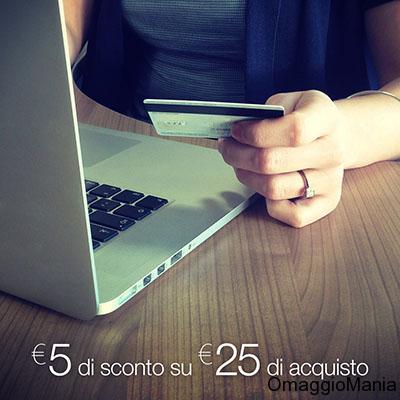 buono sconto Amazon 5 euro con Facebook