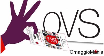 coupon OVS con Vodafone YOU (Febbraio 2014)