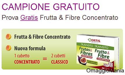 campione gratuito Frutta&Fibre Concentrato