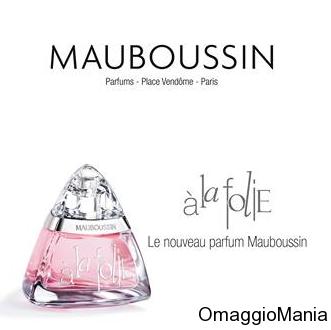 campione omaggio profumo Mauboussin A la folie