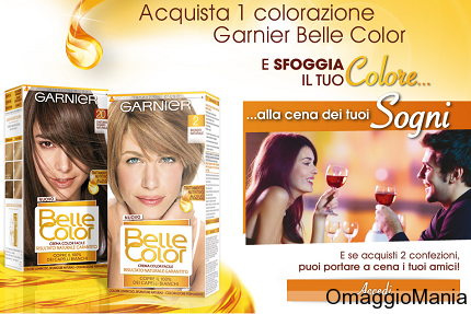 cena gratis acquistandoGarnier Belle Color