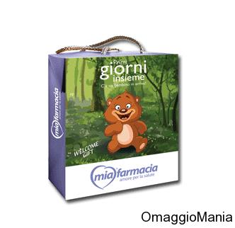 cofanetto neomamme gratis da MiaFarmacia
