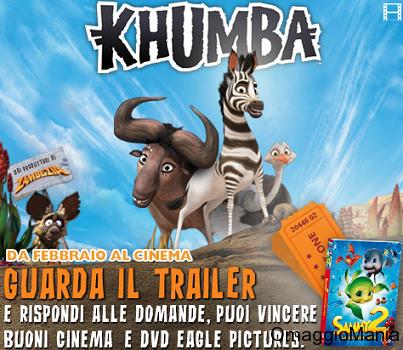 concorso Khumba per vincere DVD e buoni cinema