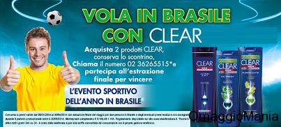 concorso a premi Clear Brasile 2014