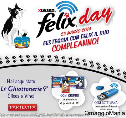 concorso a premi Felix Day