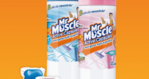 diventa tester Mr.Muscle Active Capsules
