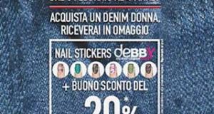 nail stickers deBBYe buono sconto con OVS