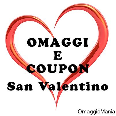 omaggi e coupon San Valentino 2014