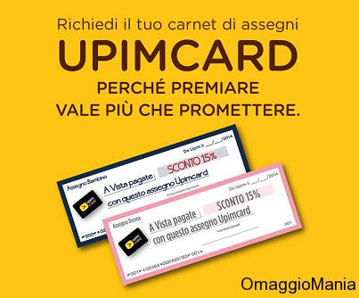 ritira assegni Upimcard