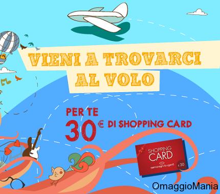 shopping card gratis Salmoiraghi e Viganò