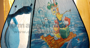 tenda gioco Cuccioli vinta con il concorso Pampers