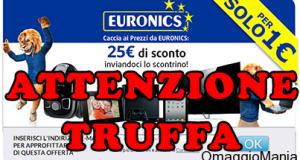 truffa Euronics Italia