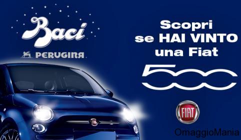 vinci Fiat 500 con Baci Perugina