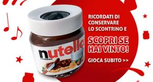 vinci altoparlante Nutella