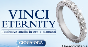 vinci anello in oro e diamanti Eternity