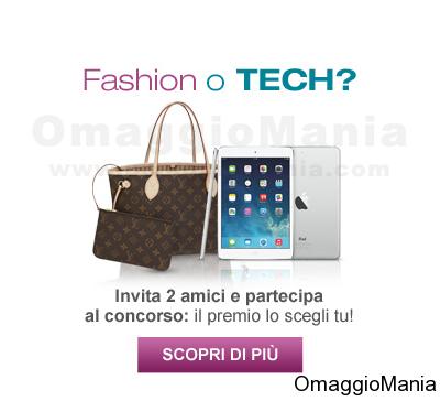 vinci borsa griffata o iPad Air con il concorso SaldiPrivati
