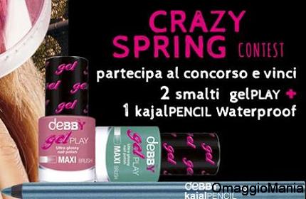 vinci cosmetici deBBY con Crazy Spring Contest