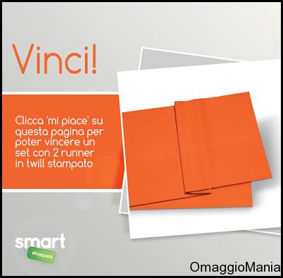vinci runner in twill stampato con Smart Shoppers Italia