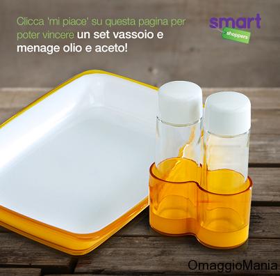 vinci set olio e aceto con Smart Shoppers Italia