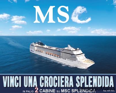 concorso per vincere una crociera MSC con IBSViaggi