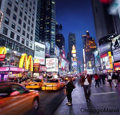 vinci viaggio a New York con Regina