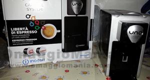 vinta una macchina del caffè Indesit Uno Capsule System