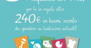 240 euro in buoni sconto Chicco con Trio