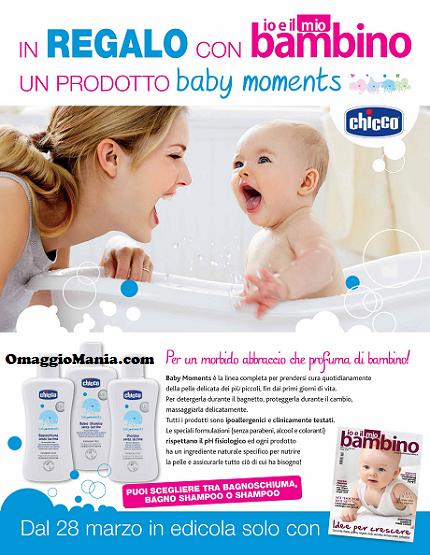 Chicco Baby Moments in omaggio con la rivista Io e il mio bambino