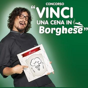 Concorso Vinci una cena in Borghese con Activia