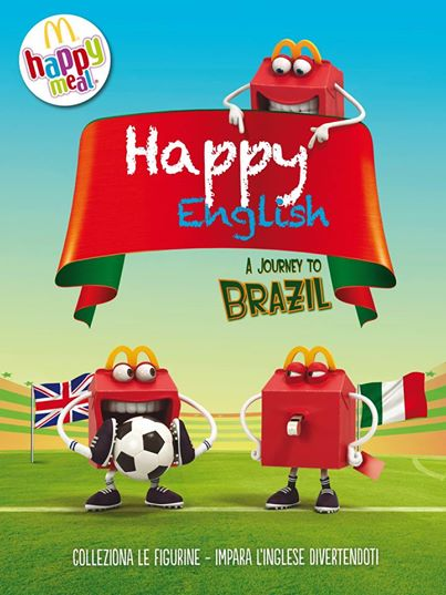 Happy English 2014 da McDonald's
