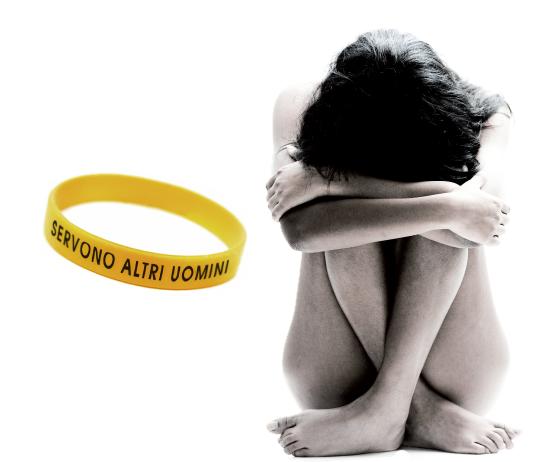 braccialetto gratis contro la violenza sulle donne