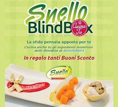 buoni sconto Rovagnati da 1 euro con Snello Blind Box
