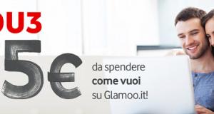 buono sconto Glamoo con Vodafone