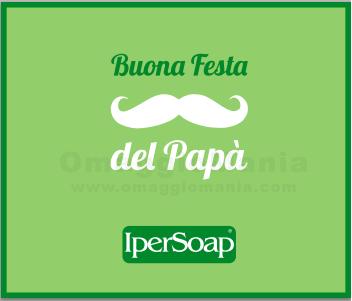 buono sconto per la Festa del Papà da IperSoap