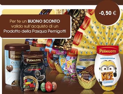 coupon sconto prodotti Pasqua Pernigotti
