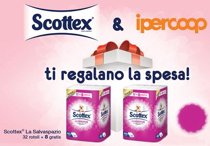 buono spesa IperCoop con Scottex
