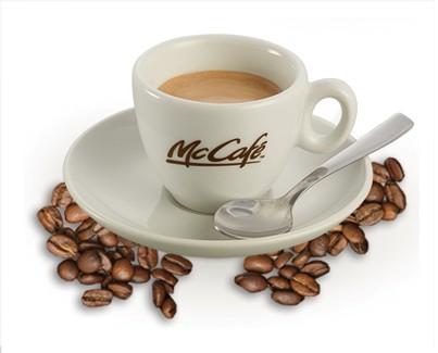 caffè gratis offerto da McDonald's