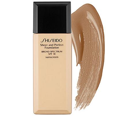 campione omaggio fondotinta Shiseido Sheer and Perfect Foundation