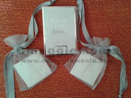 ceramica profumata omaggio da Lancome