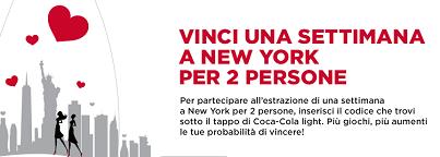 partecipa al concorso coca cola light