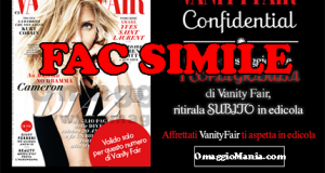 coupon per copia omaggio Vanity Fair